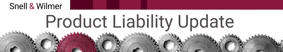 Product Liability Update