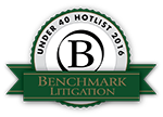 Benchmark Litigation Under 40 Hotlist