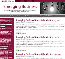 Emerging Business Blog