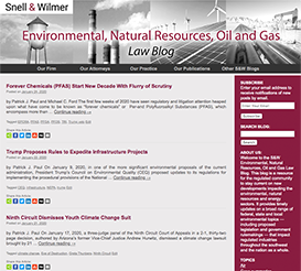 Environmental & Natural Resources Blog