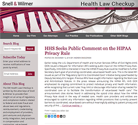 Health Law Checkup Blog