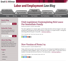 Labor and Employment Law Blog